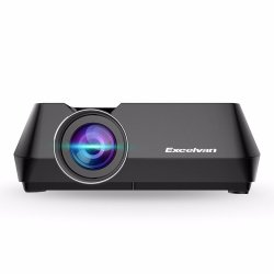 Проектор Excelvan GT-S8 Mini Multimedia LED Projector HDMI USB AV TF 1080P Home Cinema Theater