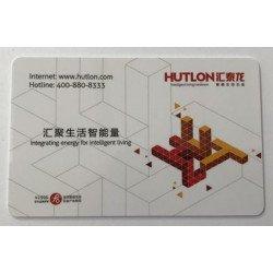 Пластиковая ключ карта Hutlon