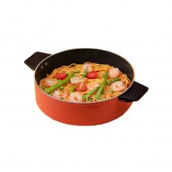 Кастрюля для Индукционной плиты Xiaomi Zhiwu Cooking Pot Orange (ZGTGZE1TCM)