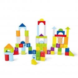 Конструктор деревянный Xiaomi Mi Bunny MITU Toy Hape 70 pcs Puzzle Building (M0001)