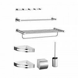 Набор для ванной комнаты Xiaomi Mirror Stainless Steel Bathroom Pendant 7 Set (DMGJTZ001)