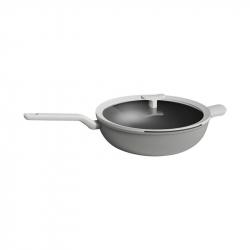 Сковорода-вок с крышкой Xiaomi BergHOFF Leo Non-stick Wok Pan 32cm Gray (5.9 л)