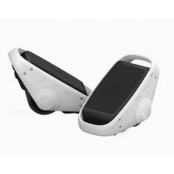 Электрические роликовые коньки Xiaomi Mijia Ninebot Double Balance Wheel Grey White