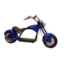 Электроскутер Чоппер Harley Rooder R804 M1 Blue version 2019
