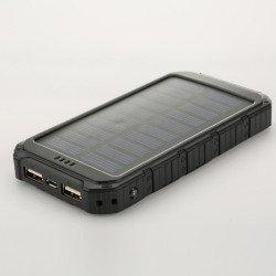 Аккумулятор на Солнечных Батареях Solar Power Bank Ultra 6000 Black