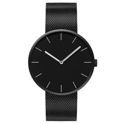 Кварцевые наручные часы Xiaomi Twenty Seventeen Quartz Light Fashion Elegant Black