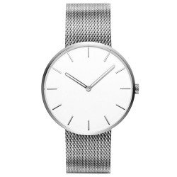 Кварцевые наручные часы Xiaomi Twenty Seventeen Quartz Light Fashion Beautiful Silver