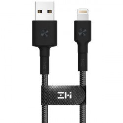 Кабель ZMi AL823 USB - Lighting Kevlar Black 30 см