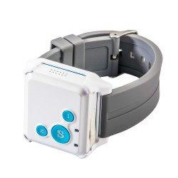 Детский мини GPS трекер/GPS маяк Reachfar RF-V16 White-Blue