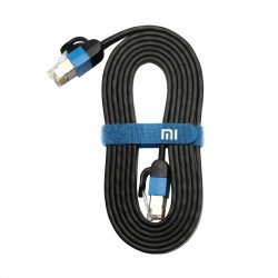 Сетевой кабель Xiaomi Mi Gigabit Ethernet cable 1.5 метра Black