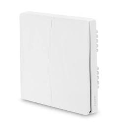 Умный выключатель Xiaomi Aqara Smart Light Switch ZigBee Version (Двойной без нулевой линии) White (QBKG03LM)