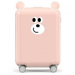 Детский чемодан Xiaomi Childish Little Ear Trolley Case 18 дюймов Pink