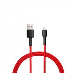 Кабель Xiaomi MI Micro USB Braided Kevlar Cable 100 см Red Black (SJX13ZM)