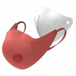 Маска-фильтр Xiaomi MiJia AirWear Anti-Fog And Haze Mask Red